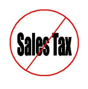 no sales tax