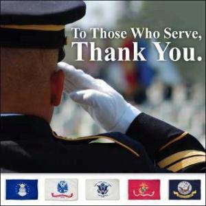 To Those Who Serve Thank You