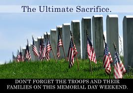 Ultimate Sacrifice Memorial Day