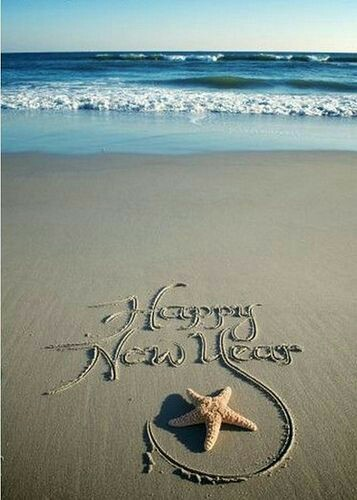 happy-new-year-beach