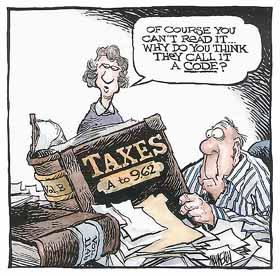 Tax Code Joke