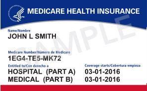 Medicare Medicaid Card Sample